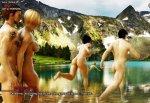 Fruhlingsferien nackt wandern mit madchen