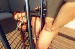 Online Fetisch Pornos mit versaute Bondage Vergnügen