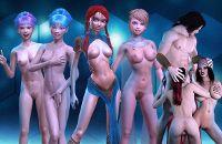 3D Girlz Spiel mit 3D Anime Porno