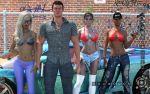 Vollbusige und halb nackt sex gangster