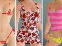 Erotische bikini fur ein virtuelles lesbische schlampen