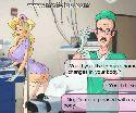 Beute krankenschwester zeigt ihre bruste zu einem geilen arzt