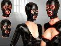 Latex masken fur erwachsene eine gummi fetisch